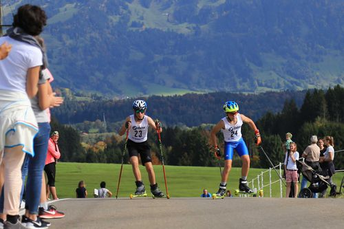 Zum Thema  2. Rollski-Bergsprint am 30. September 2017
